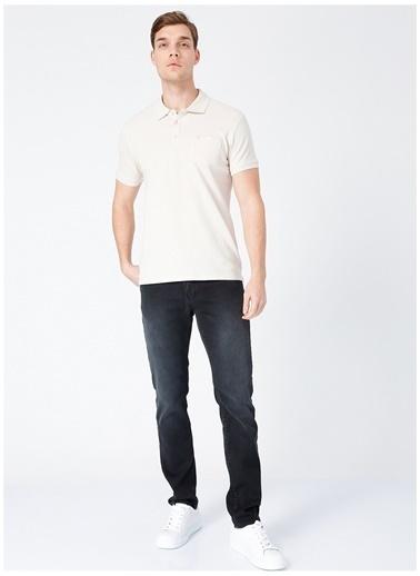 Fabrika Comfort Fabrika Comfort Bej Erkek Cepli Polo T-Shirt Bej